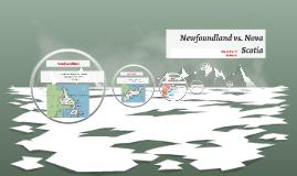 Newfoundland vs. Nova Scotia