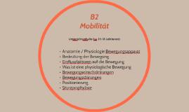 B2 Mobilität Unterrichtsinhalte