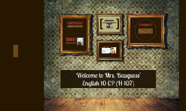 Welcome to English 10 CP (H-107)