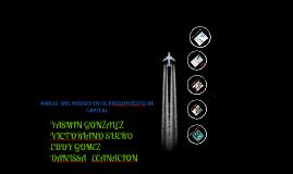 Copy of ANÁLISIS DEL RIESGO EN EL PRESUPUESTO DE CAPITAL