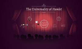 Universality of Hamlet