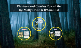 Planters and Charles Town Life
