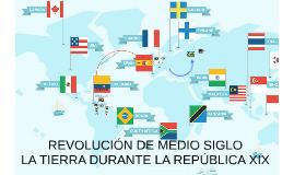 REVOLUCIÓN DE MEDIO SIGLO
