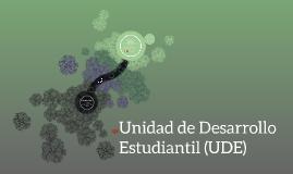 Unidad de Desarrollo Estudiantil (UDE)