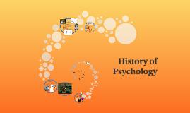 Copy of History of Psychology