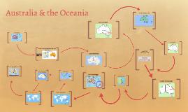 Australia and the Oceania Map
