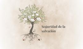 Seguridad de la salvación