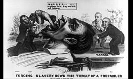 Bleeding Kansas Political Cartoons