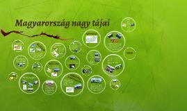 Copy of Magyarország nagy tájai