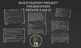 sample investigatory project