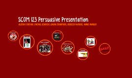 SCOM 123 Persuasive Presentation