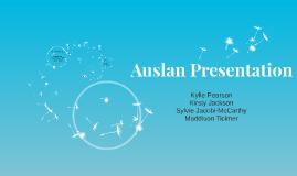 Auslan Presentation