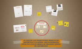 EL USO DE LAS OPERACIONES BÁSICAS EN ARITMÉTICA Y ALGEBRA. U
