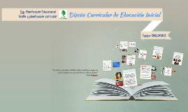 Diseño Curricular de Educación Incial