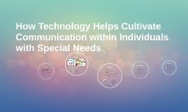 How Technology Helps Cultivate Communication within Individu