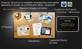 Jornada Reforma Universitaria Aporte del Proyecto IDICE