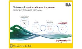 Plataforma de monitoreo hidráulico