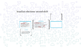 brazilian elections- second shift