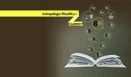 Antropología filosófica I