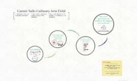 Career Talk: Culinary Arts Field