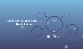 Greek Mythology: Zeus