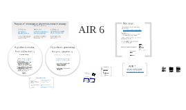 AIR 6 Qualitative methods and sampling strategies