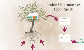 Projet: Mon conte sur Adobe Spark