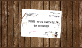 Bring your parents to revision event