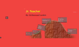 Junior Teahcer