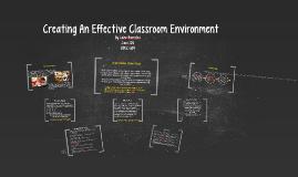 Creating An Effective Classroom Environment