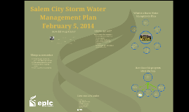Salem City Council SWMP presentation 2-5-14