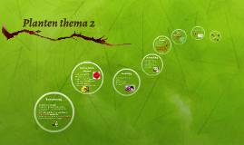 Planten thema 2