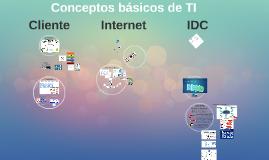 Conceptos básicos de TI