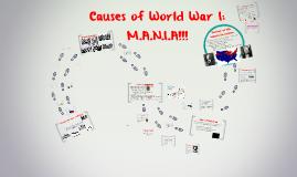 APUSH - World War I