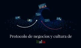 Protocolo de negocios y cultura de Italia
