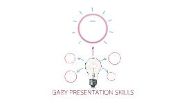 GABY PRESENTATION TRAINING