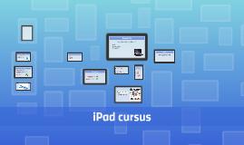 iPad cursus