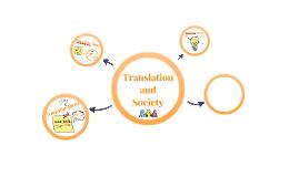 Translation and Society