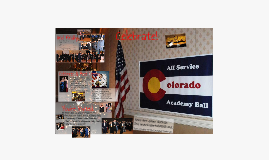 2012 Colorado All Service Academy Ball - Cadet/Midshipman Invitation