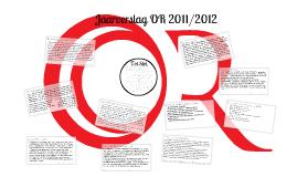 Jaarverslag OR 2011/2012