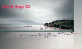 linea de tiempo RSE
