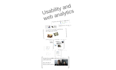 Usability and web analytics