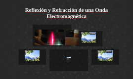 Reflexión y Refracción de una Onda Electromagnética