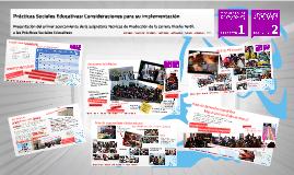 Prácticas Sociales Educativas. Ponencia para el Congreso en Docencia Universitaria, Buenos Aires 2013