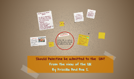 Should Paslestine be admitted to the  UN?