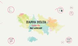 PACE - kappa delta
