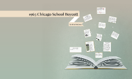 1963 Chicago School Boycott