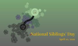 National Siblings Day