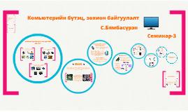 Copy of Комьютерийн бүтэц