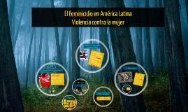 Copy of El Feminicidio